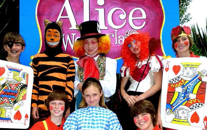 Alice In Wonderland Medium Cast Play Script For Young Performers