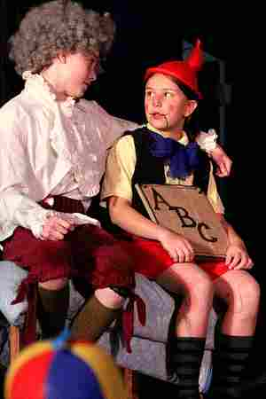 School Plays for Children!  Pinocchio!