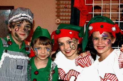 twas the night before christmas childrens christmas musical - The Night Before Christmas Cast